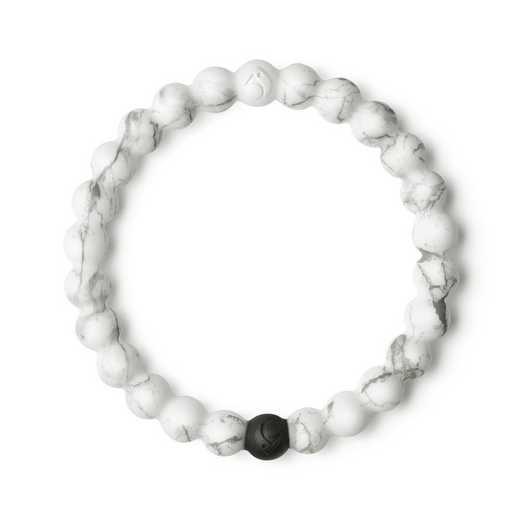 LLTD-018WH-M: Lokai - White Marble Bracelet - Medium