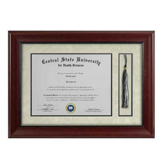 Heritage Frames 11x14 Premium Cherry Wood Diploma Frame with Tassel Display