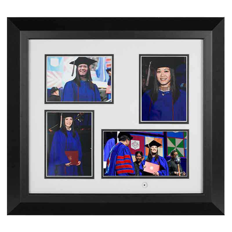861811351343: Play Back Frames Diploma Frame with 10