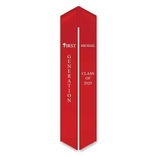 First Generation Graduation Stole