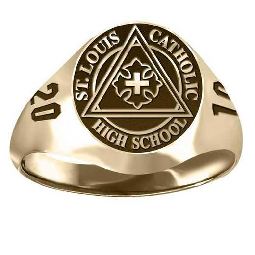 St. Louis Catholic High School Small Signet Ring