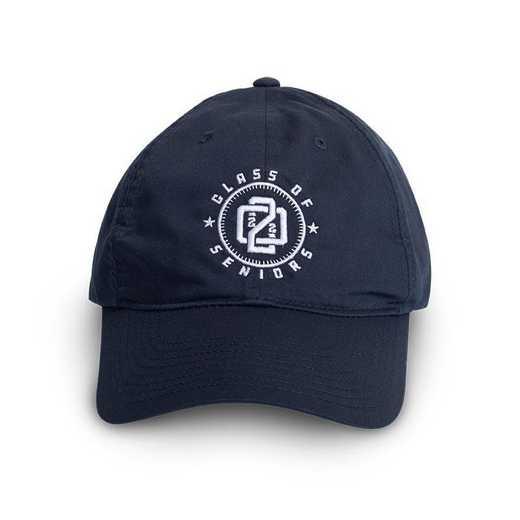 K022762: Class of 2022 Seniors Nike Baseball Hat, Adjustable, Navy