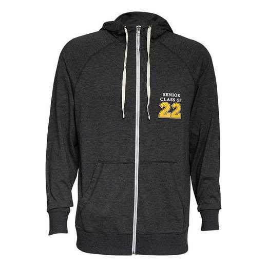 Men's Class of 2022 Full-Zip Fleece Hoodie with Pockets
