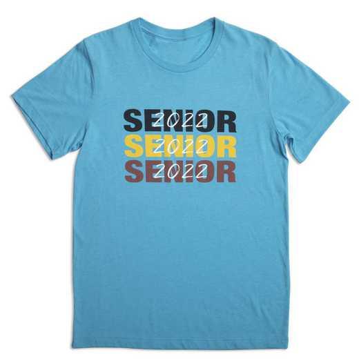 Class of 2022 Senior Triple Play T-Shirt