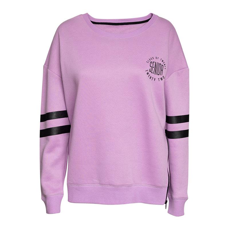Women's Varsity Crew Pullover, Lilac