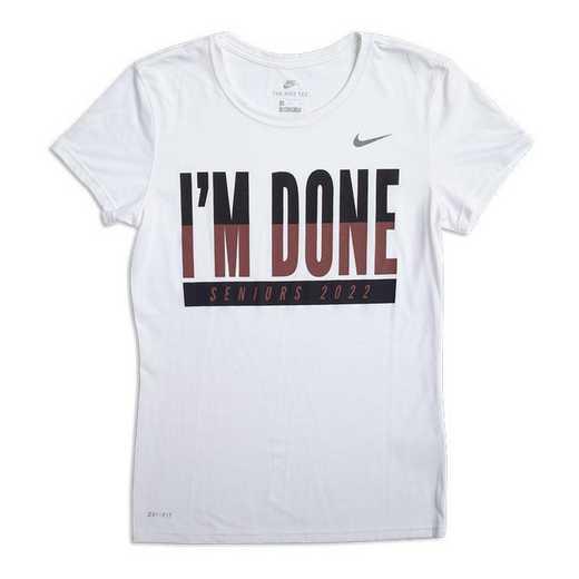 Women's Class of 2022 Nike I'm Done T-Shirt
