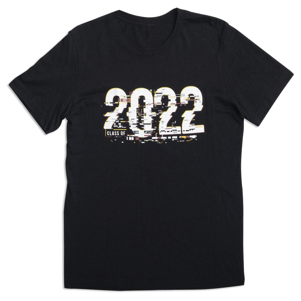 2022 Glitch T-Shirt, Heather Black