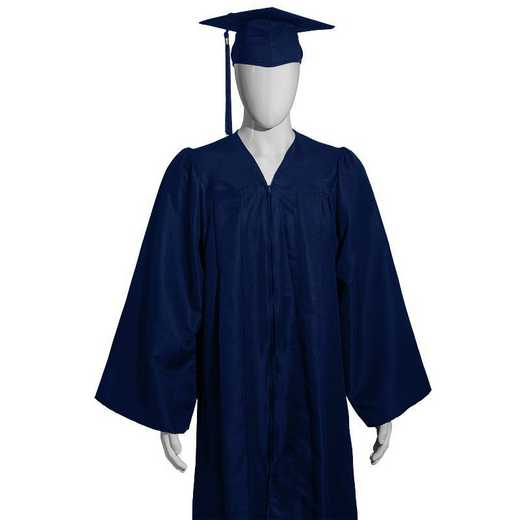 Gown: Cap and Gown (for Grad Hand Fee)