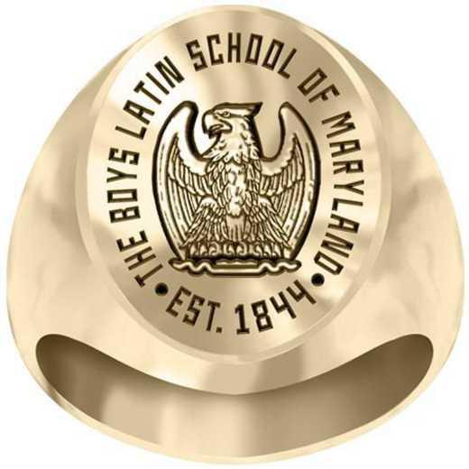 Boys Latin School Large Signet Ring