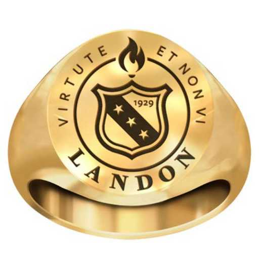 Landon High School Ring