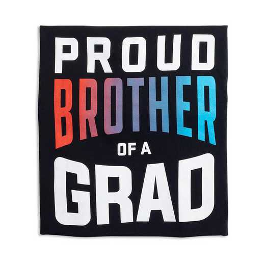 Proud Brother of a Grad 2022 T-Shirt, Black