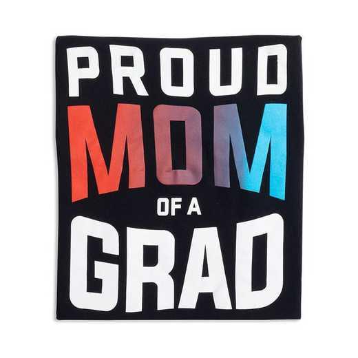 Proud Mom of a Grad 2022 T-Shirt, Black