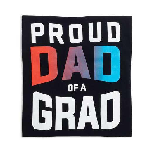Proud Dad of a Grad 2022 T-Shirt, Black