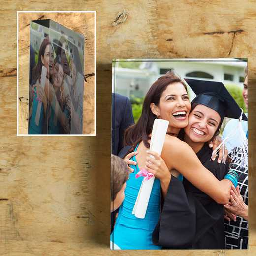 "Custom Acrylic Photo Block - 5"" x 7"""