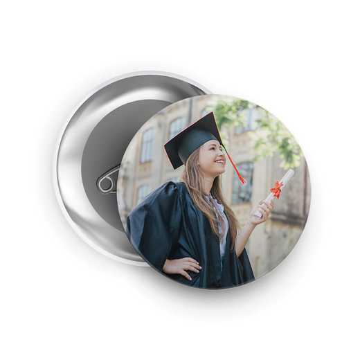 "Custom Photo Buttons - 3"" Round"