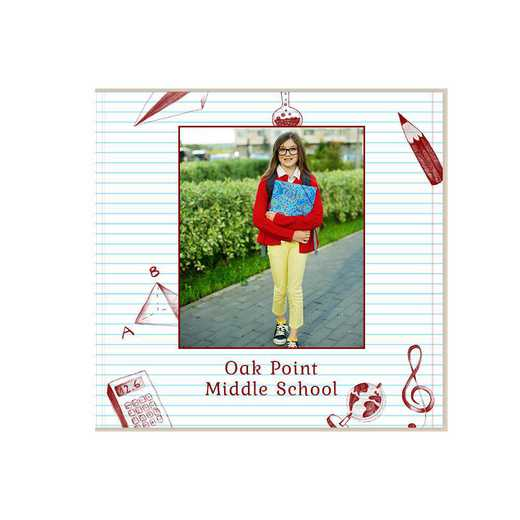 Middle School Year Photo Book