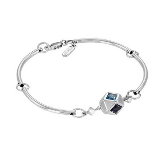 Women's Rhombus Tube Bracelet by Kleo