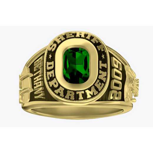 Women's Sheriff Dual Rail Service Ring