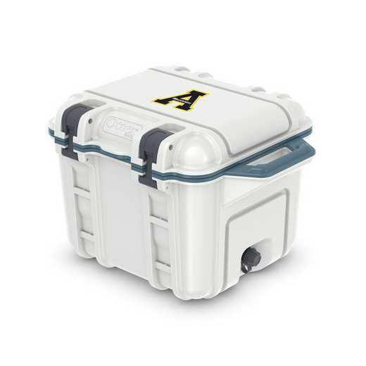 COO-25Q-HUD-VEN-APS-D101: BL OB VENTURE 25 QT COOLER, Appalachian State Mountaineers