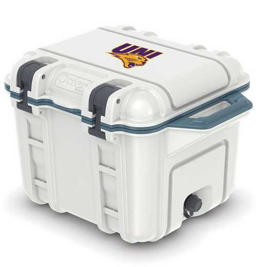 COO-25Q-HUD-VEN-UNI-D101: BL OB VENTURE 25 QT COOLER, Northern Iowa Panthers