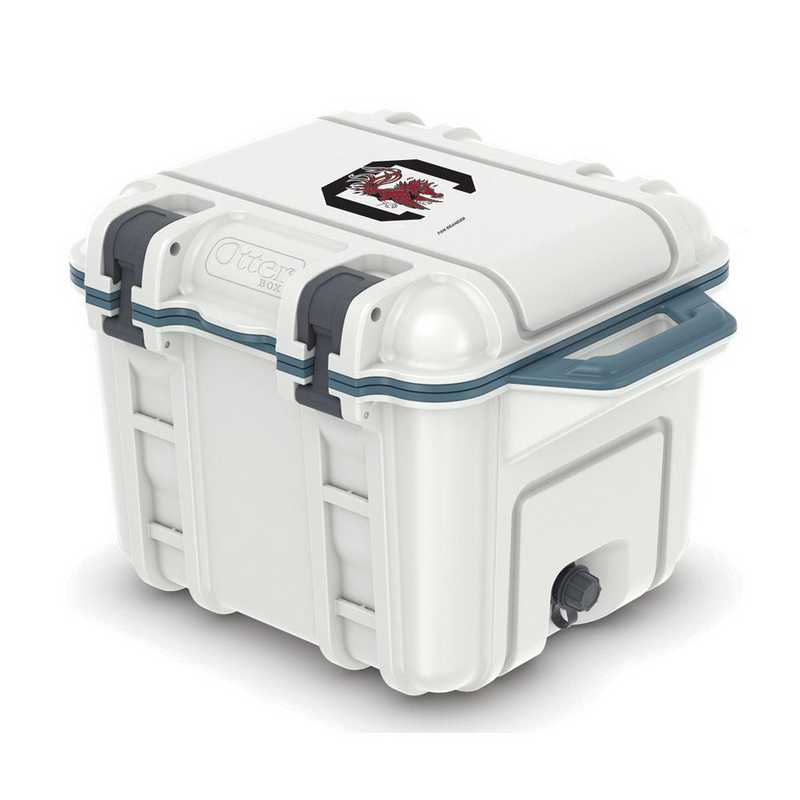 COO-25Q-HUD-VEN-USC-D101: BL OB VENTURE 25 QT COOLER, South Carolina Gamecocks