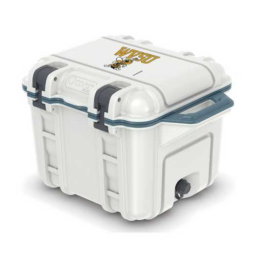 COO-25Q-HUD-VEN-WVSU-D101: BL OB VENTURE 25 QT COOLER, West Virginia St Yellow Jackets