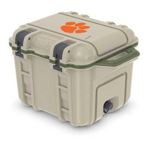 COO-25Q-RL-VEN-CL-D101: BL OB VENTURE 25 QT COOLER Clemson Tigers