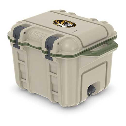 COO-25Q-RL-VEN-MIS-D101: BL OB VENTURE 25 QT COOLER Missouri Tigers