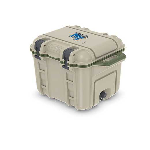 COO-25Q-RL-VEN-MTN-D101: BL OB VENTURE 25 QT COOLER Middle Tennessee St Blue Raiders