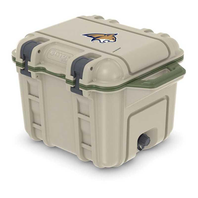 COO-25Q-RL-VEN-MTST-D101: BL OB VENTURE 25 QT COOLER Montana State Bobcats