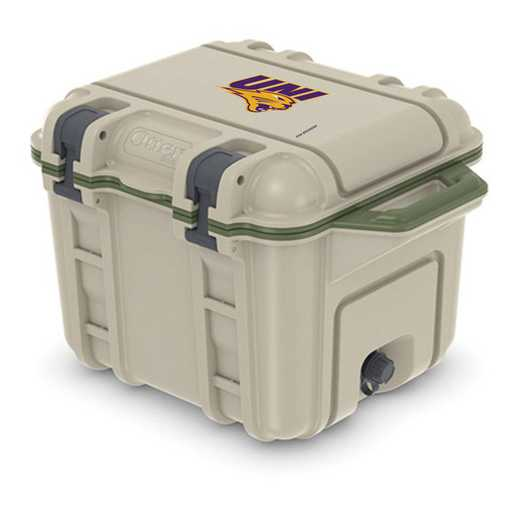 COO-25Q-RL-VEN-UNI-D101: BL OB VENTURE 25 QT COOLER Northern Iowa Panthers