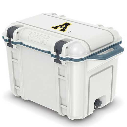 COO-45Q-HUD-VEN-APS-D101: BL OB VENTURE 45 QT COOLER Appalachian State Mountaineers