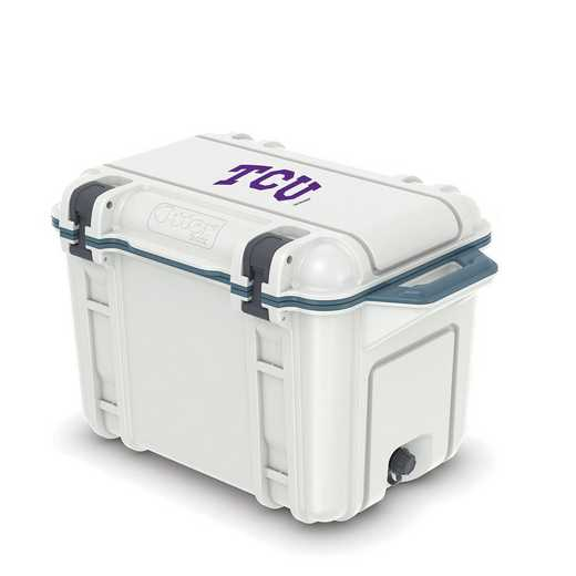 COO-45Q-HUD-VEN-TCU-D101: BL OB VENTURE 45 QT COOLER Texas Christian University Horned Frogs