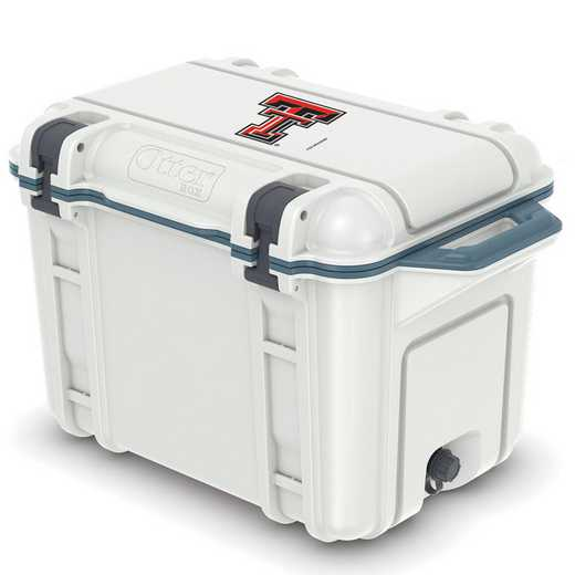COO-45Q-HUD-VEN-TT-D101: BL OB VENTURE 45 QT COOLER Texas Tech Red Raiders