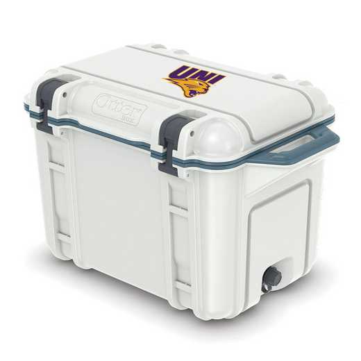 COO-45Q-HUD-VEN-UNI-D101: BL OB VENTURE 45 QT COOLER Northern Iowa Panthers