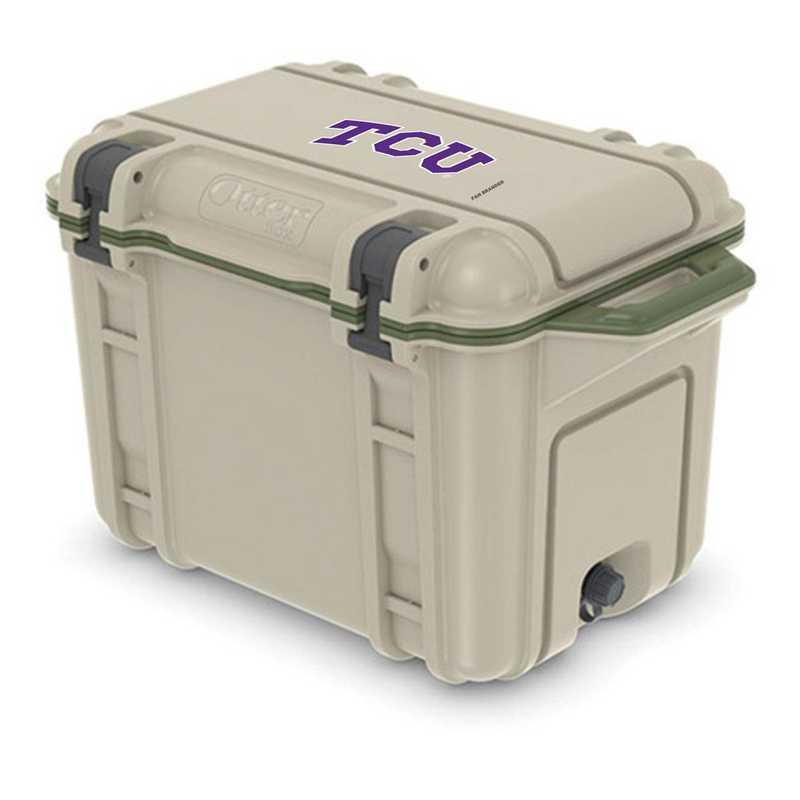 COO-45Q-RL-VEN-TCU-D101: BL OB VENTURE 45 QT COOLER, Texas Christian University Horned Frogs