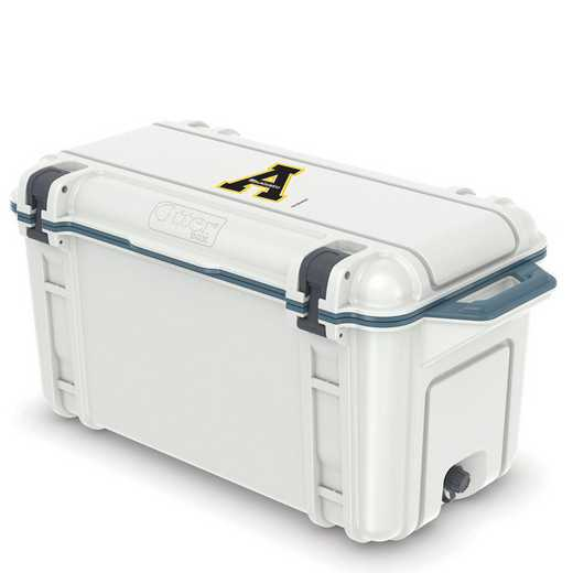 COO-65Q-HUD-VEN-APS-D101: BL OB VENTURE 65 QT COOLER Appalachian State Mountaineers