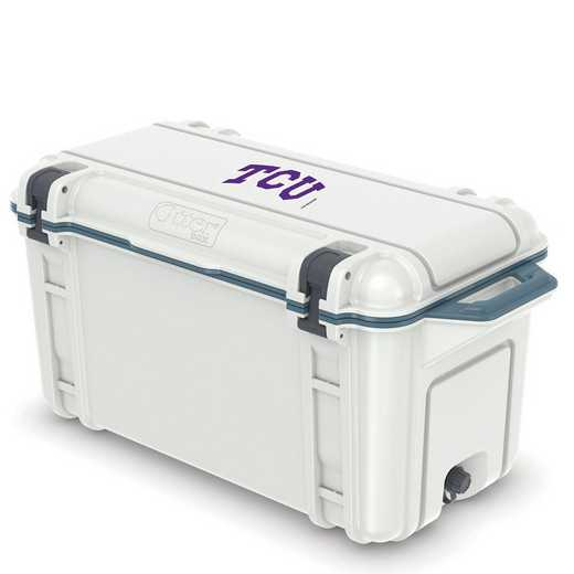 COO-65Q-HUD-VEN-TCU-D101: BL OB VENTURE 65 QT COOLER Texas Christian University Horned Frogs