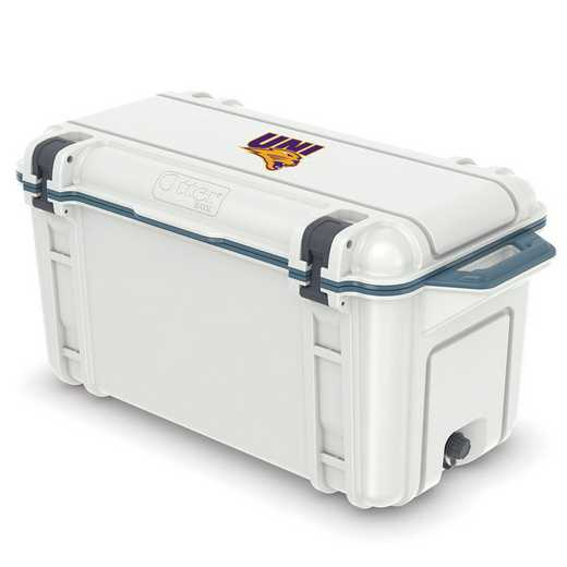 COO-65Q-HUD-VEN-UNI-D101: BL OB VENTURE 65 QT COOLER Northern Iowa Panthers