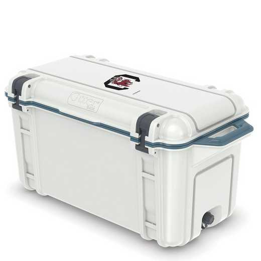 COO-65Q-HUD-VEN-USC-D101: BL OB VENTURE 65 QT COOLER South Carolina Gamecocks