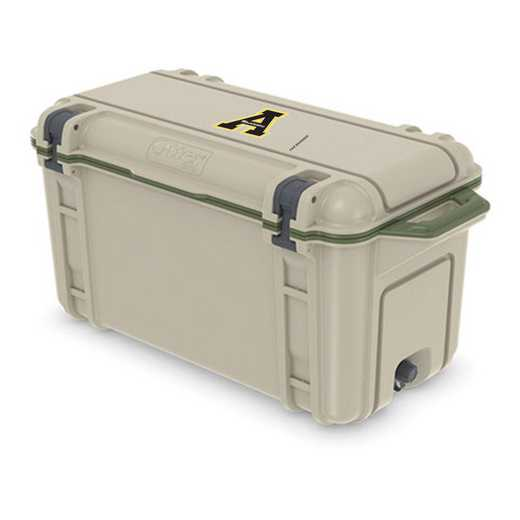 COO-65Q-RL-VEN-APS-D101: BL OB VENTURE 65 QT COOLER Appalachian State Mountaineers