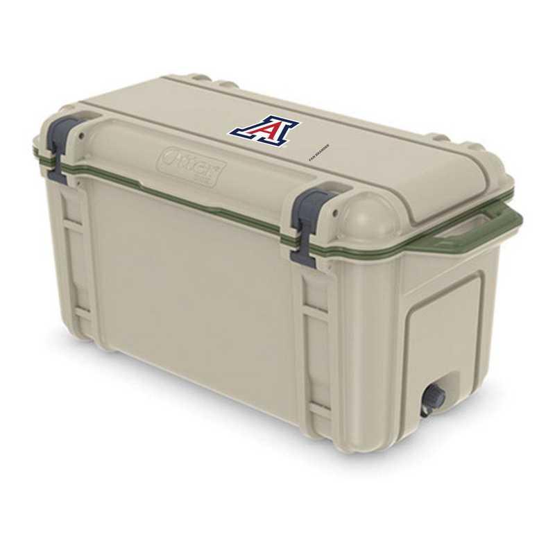 COO-65Q-RL-VEN-ARZ-D101: BL OB VENTURE 65 QT COOLER Arizona Wildcats
