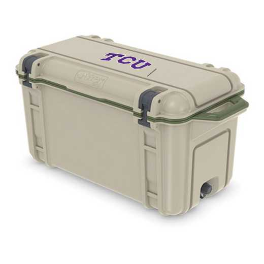 COO-65Q-RL-VEN-TCU-D101: BL OB VENTURE 65 QT COOLER Texas Christian University Horned Frogs