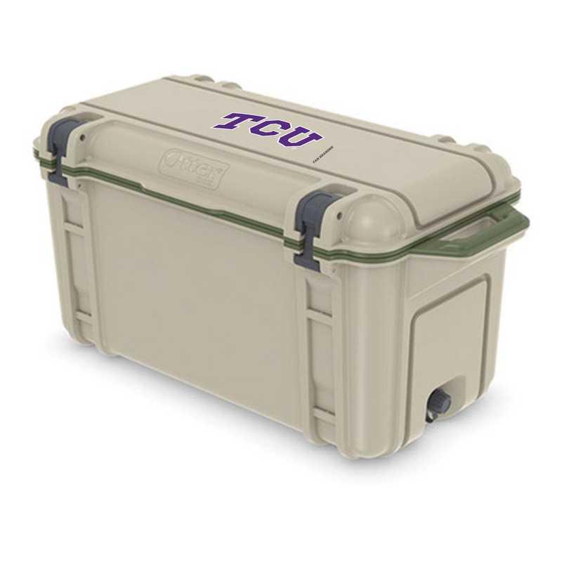 COO-65Q-RL-VEN-TCU-D101: BL OB VENTURE 65 QT COOLER Texas Christian University Horned Frogs