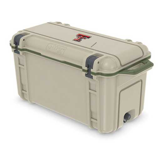 COO-65Q-RL-VEN-TT-D101: BL OB VENTURE 65 QT COOLER Texas Tech Red Raiders