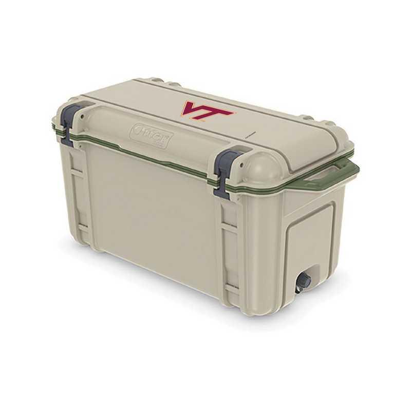 COO-65Q-RL-VEN-VAT-D101: BL OB VENTURE 65 QT COOLER Virginia Tech Hokies