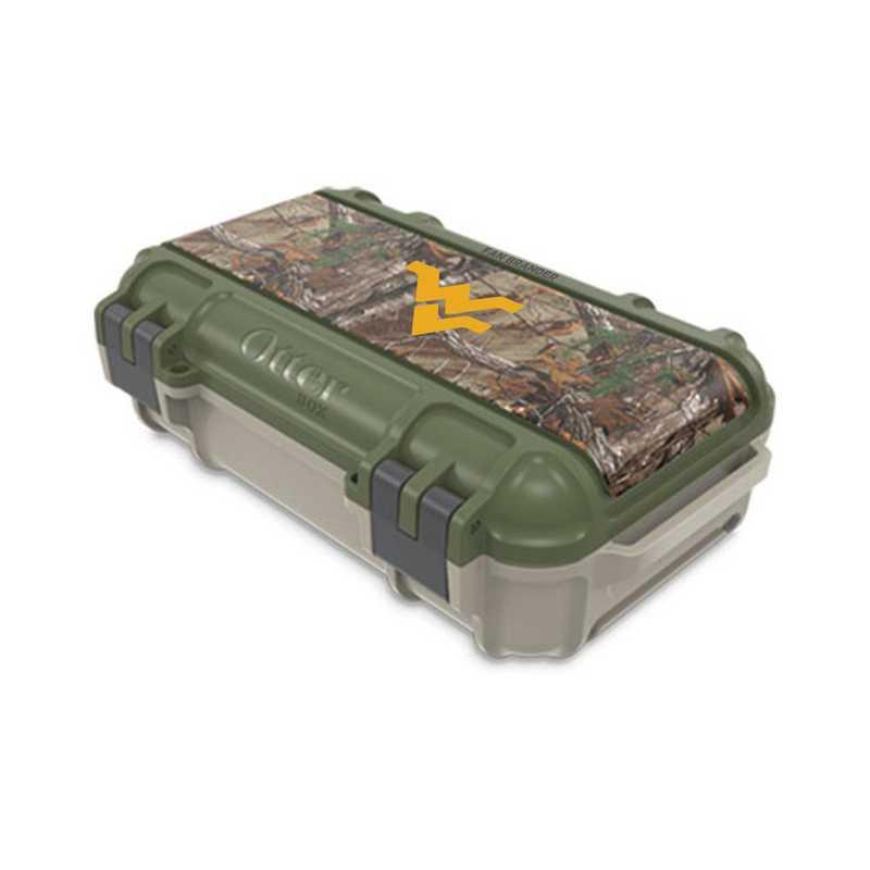 DRY-325-RT-VEN-WV-D101: FB West Virginia Mountaineers  Drybox
