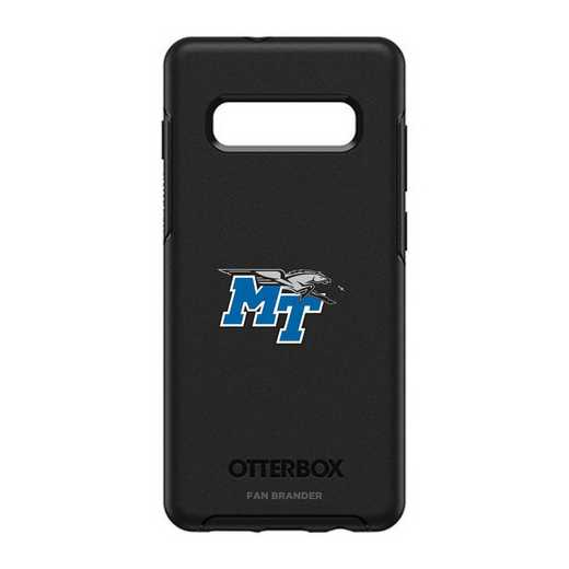 GAL-10P-BK-SYM-MTN-D101: BL Middle Tennessee St OtterBox Galaxy S10+ Symmetry