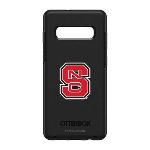 GAL-10P-BK-SYM-NCS-D101: BL NC State Wolfpack OtterBox Galaxy S10+ Symmetry
