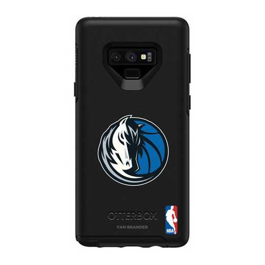 GAL-N9-BK-SYM-DAM-D101: BL Dallas Mavericks OtterBox Galaxy Note9 Symmetry